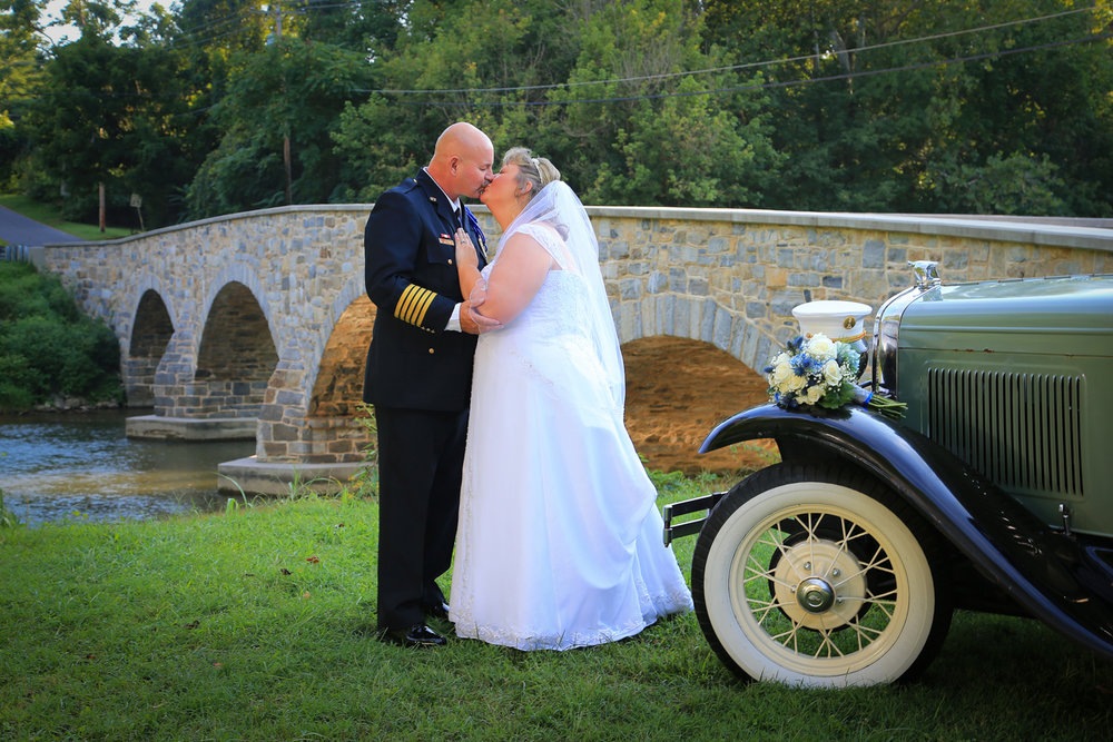 Boonsboro Fire Fighters Wedding