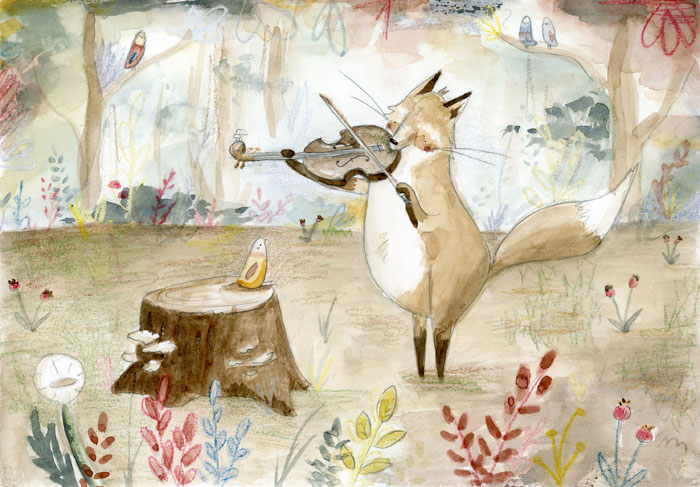 Fiddle Fox