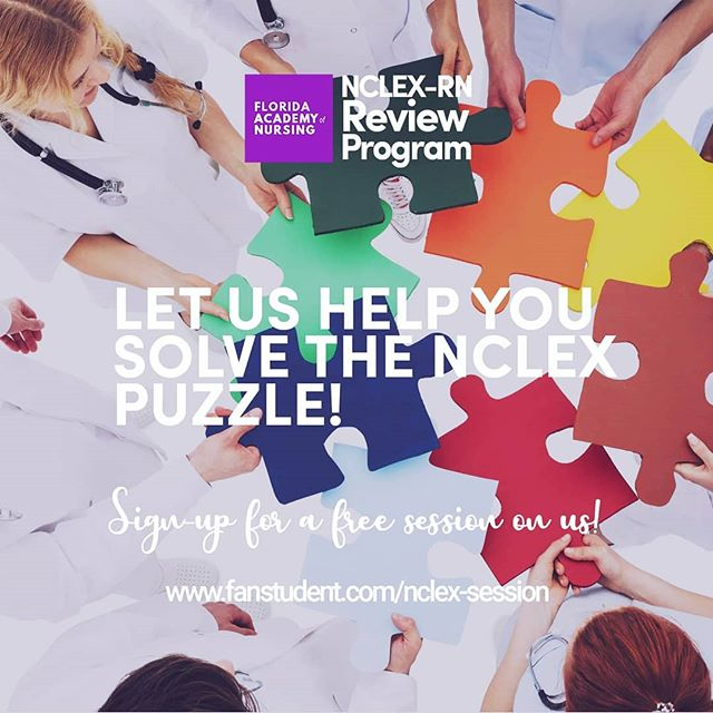 Struggling with the NCLEX? 😖😖😖 We can help!👍 Sign-up for a free session on us, 🚀🚀🚀 Learn test taking strategies to achieve success on the NCLEX  Sign-up Now! www.fanstudent.com/nclex-session