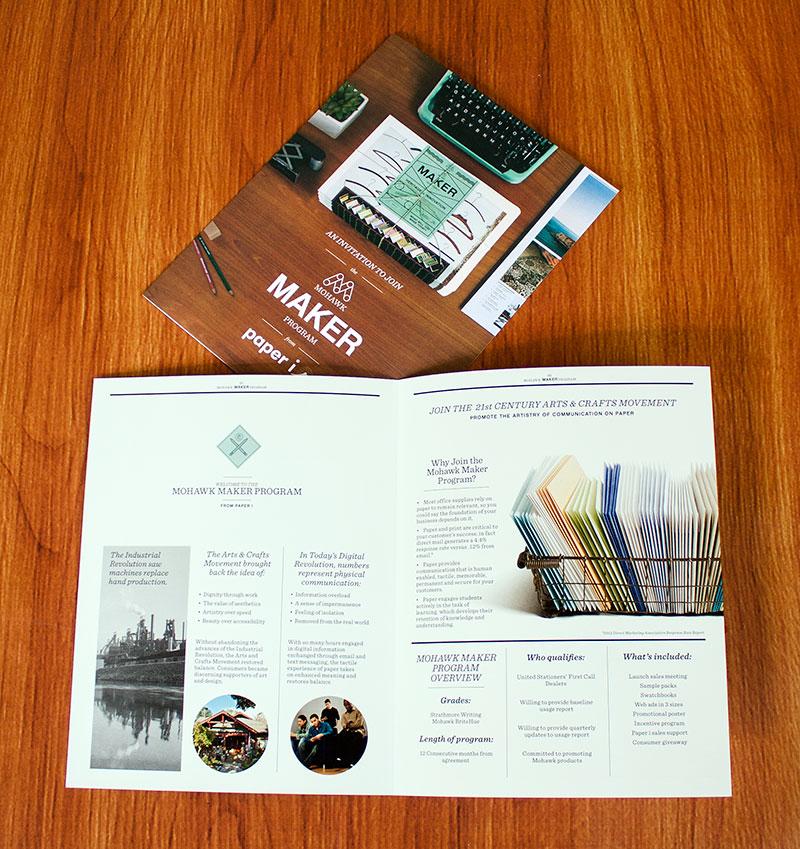 The Paper-i Mohawk Maker Program Overview