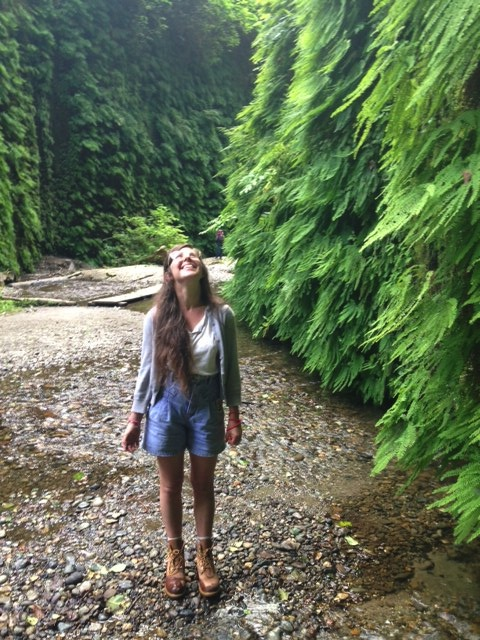 awed at fern canyon