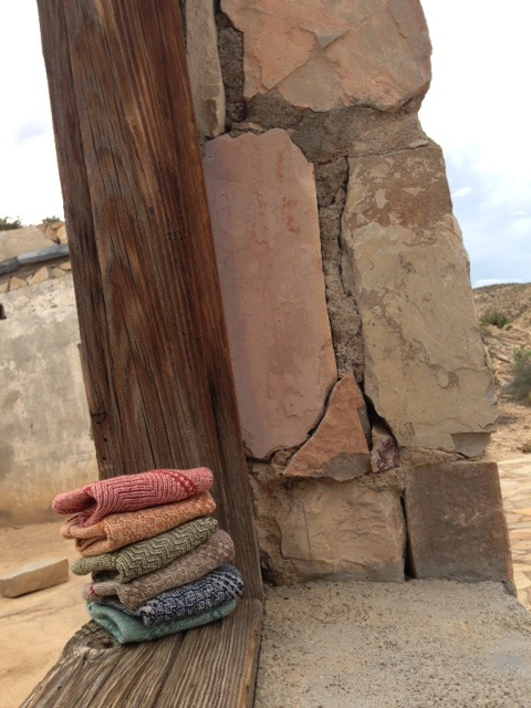 """some of my new """"everyday cloths"""" in the desert"""