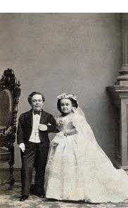 Charles Stratton and Lavinia Warren