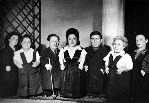 The Ovitz family from Transylvania