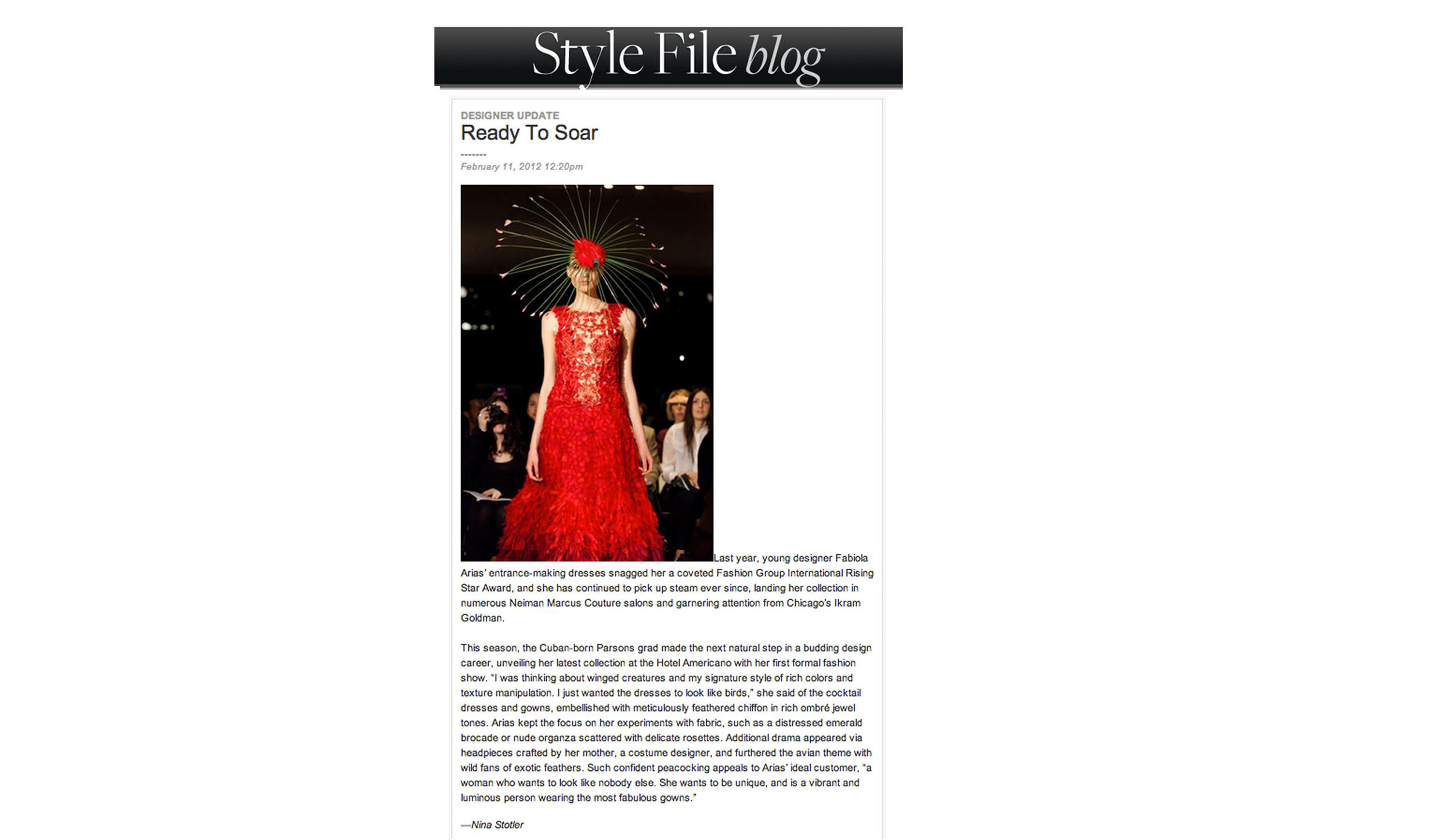 Style.com  February 2012