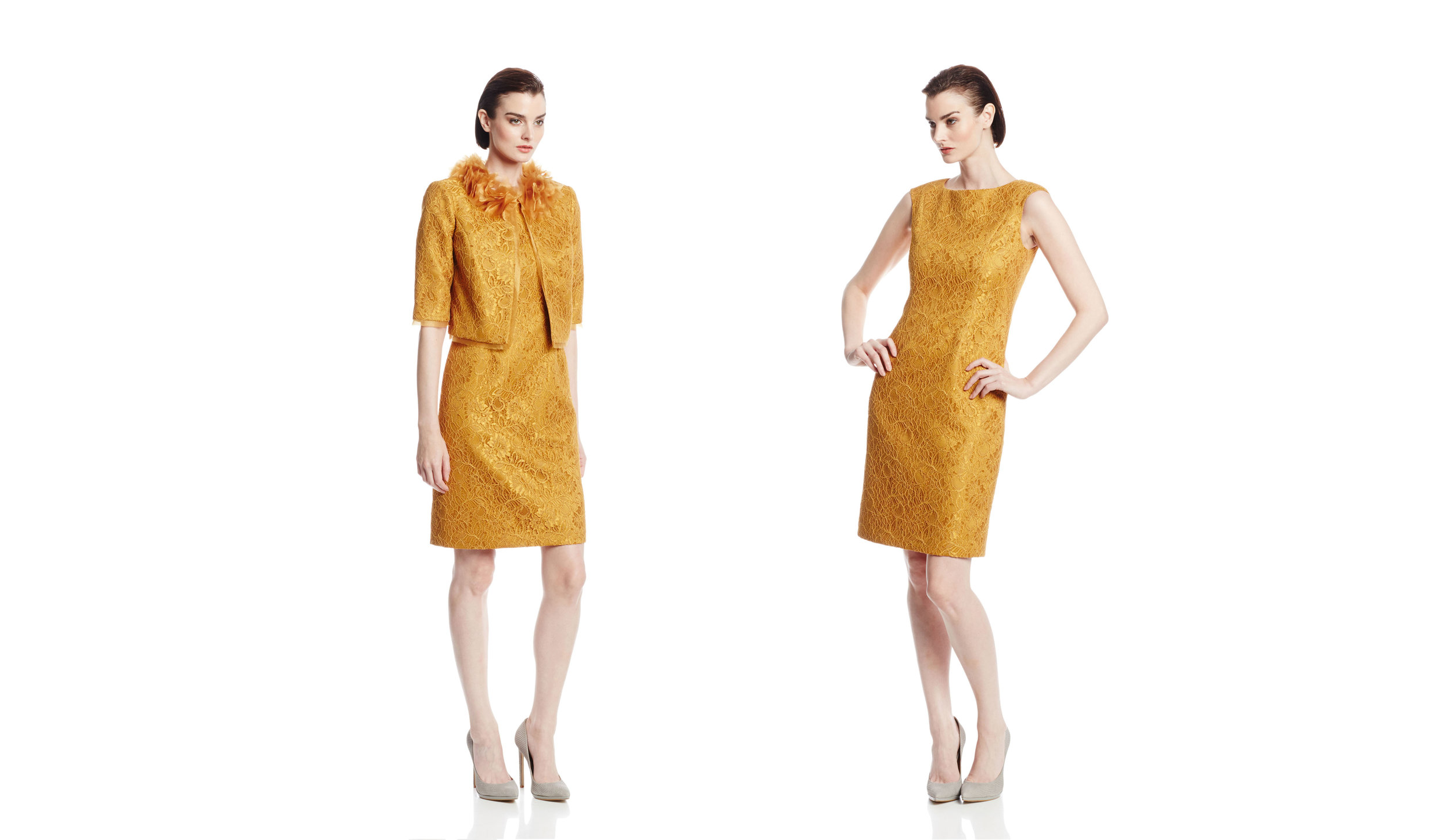 Mustard Gold Lace Dress Suit Full Bleed copy.jpg