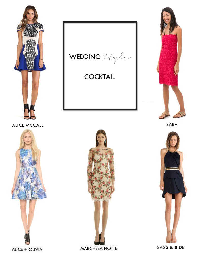 WEDDING STYLE | COCKTAIL