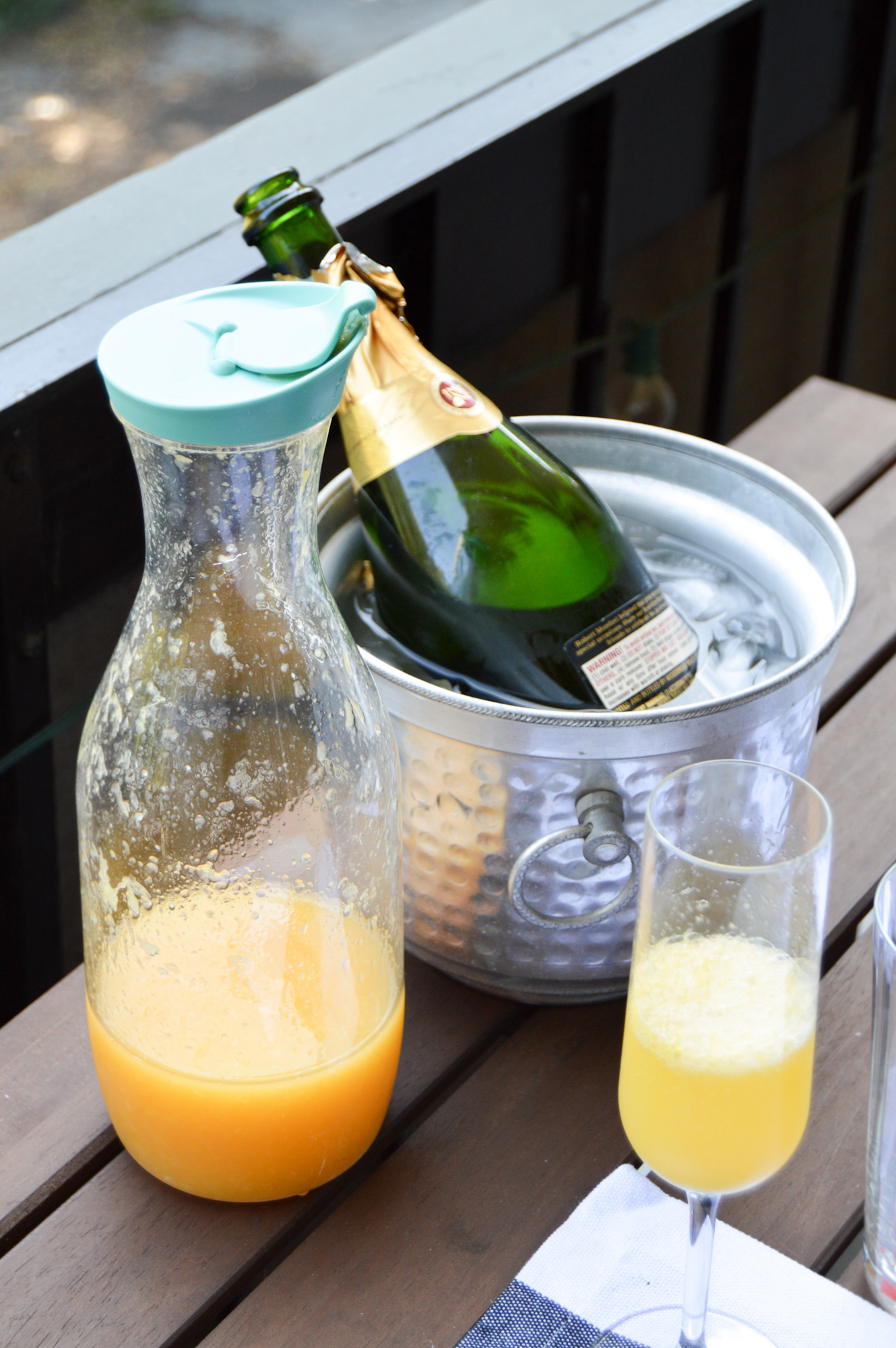 Orange Grapefruit Mimosas | Birdie Shoots