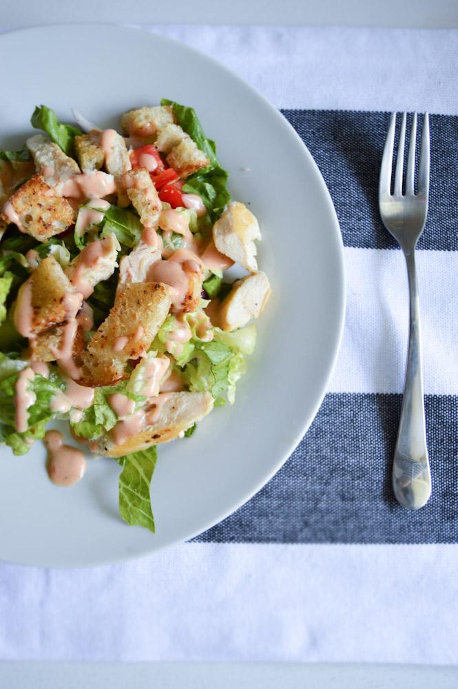 BBQ Chicken Salad | Birdie Shoots