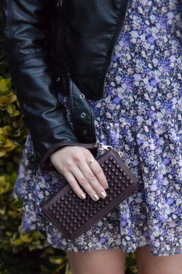 Leather & Floral via. Birdie Shoots