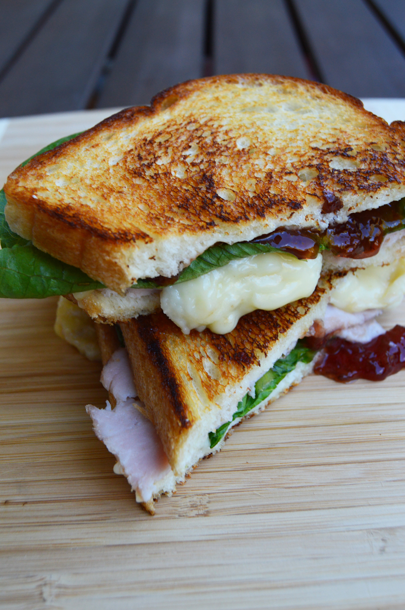 Thanksgiving on a Sandwich via. Birdie Shoots