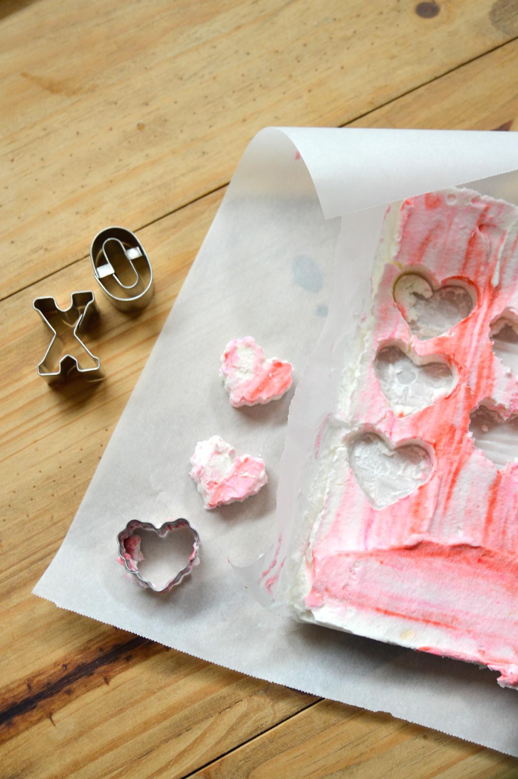 At-home heart marshmallows via. Birdie shoots