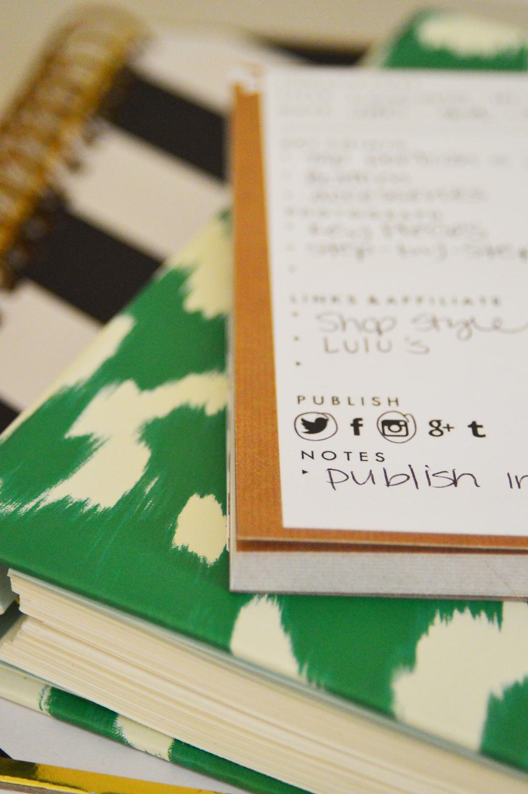 Blog organizer via. Birdie Shoots
