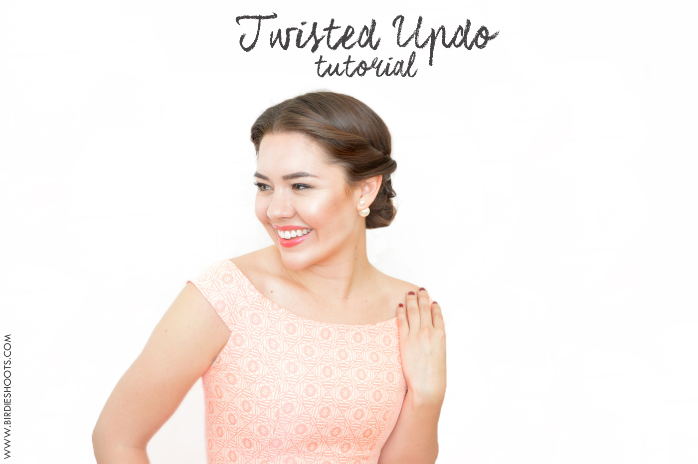 Twisted Up-do tutorial via. Birdie Shoots