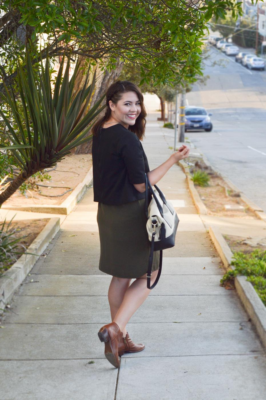 Layered Dress & blouse via. Birdie Shoots