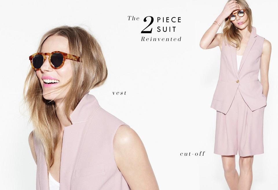 The 2-Piece Suit Reinvented via. Birdie Shoots
