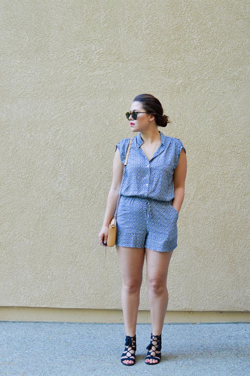 Summer Romper Style via. Birdie Shoots