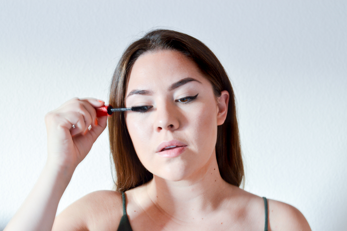 false lash effect tutorial via. Birdie Shoots