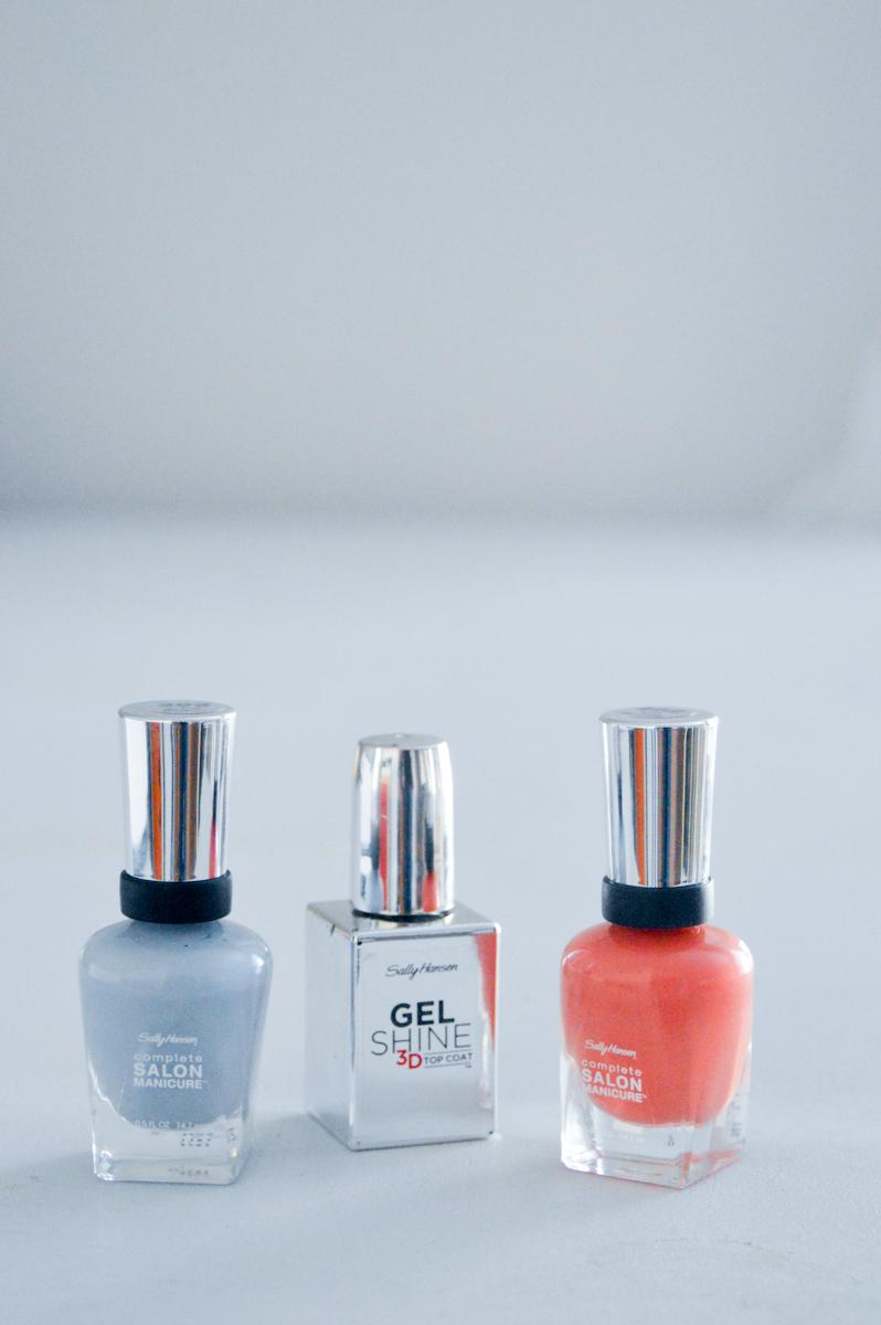 Sally Hansen Complete Salon Manicure Review via. www.birdieshoots.com