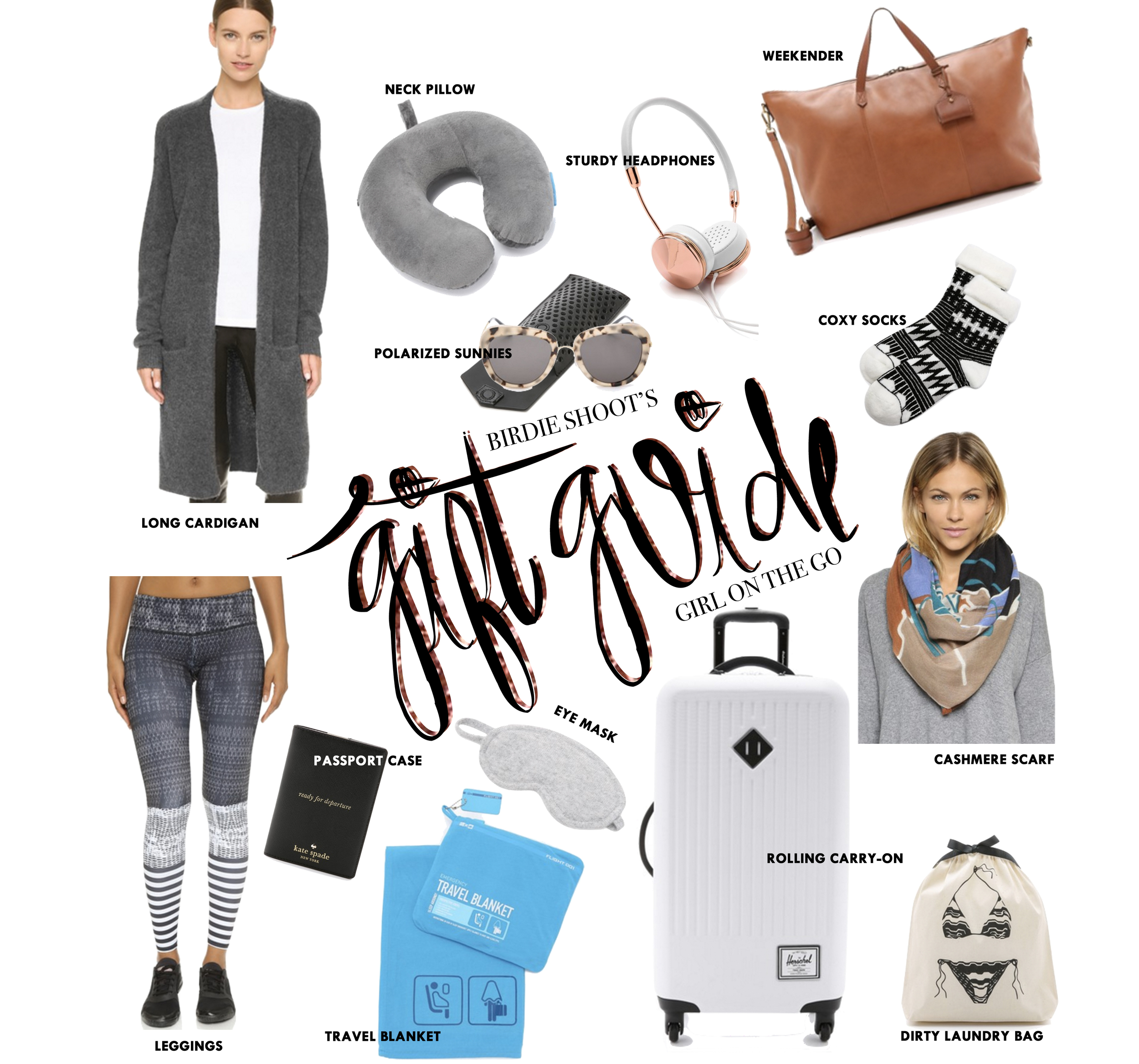Gift Guide, Girl on the Go via. Birdie Shoots