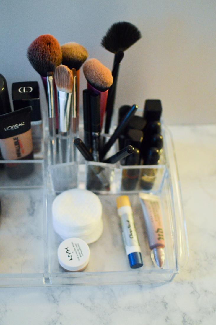 Makeup Organization via. Birdie Shoots