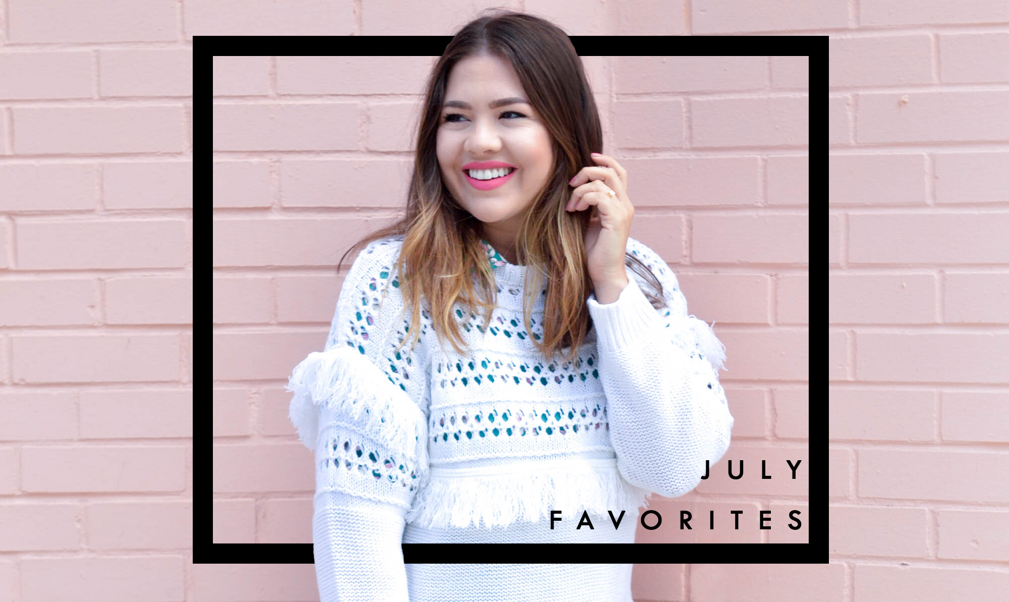 July Beauty Favorites via. www.birdieshoots.com