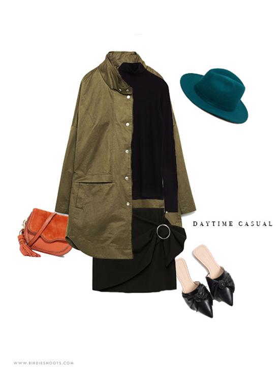 Fall 2016 Outfit ideas for daytime wear via. www.birdieshoots.com