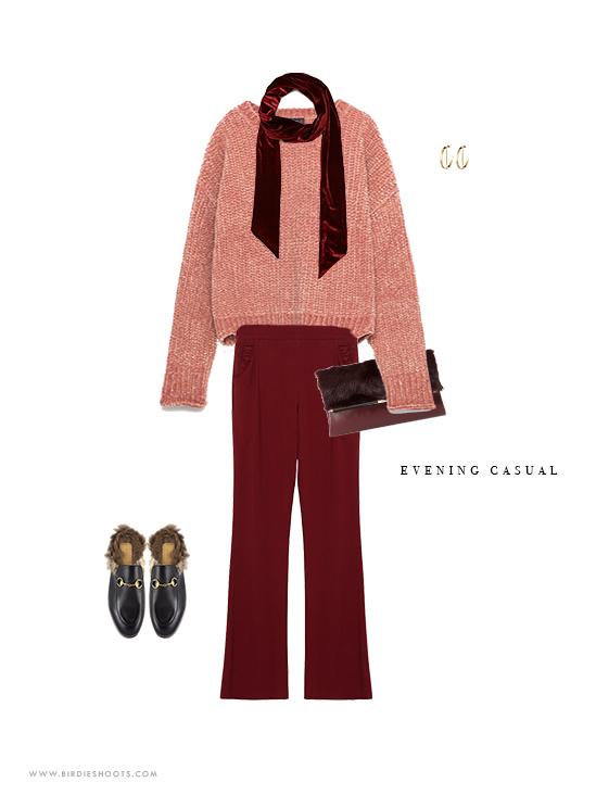 Fall 2016 Outfit ideas for evening wear via. www.birdieshoots.com