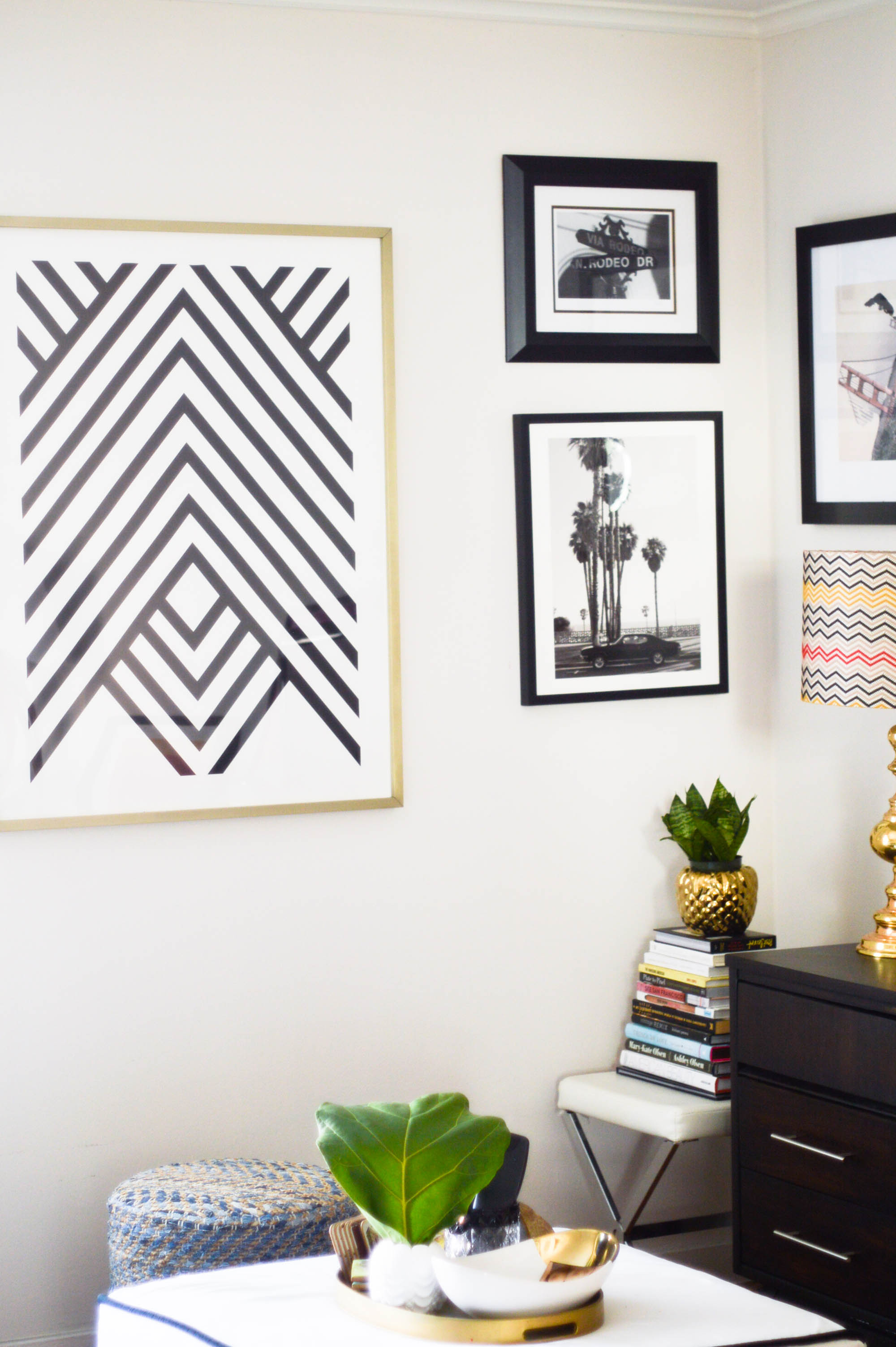 Rental Life, Decorating with Minted Art