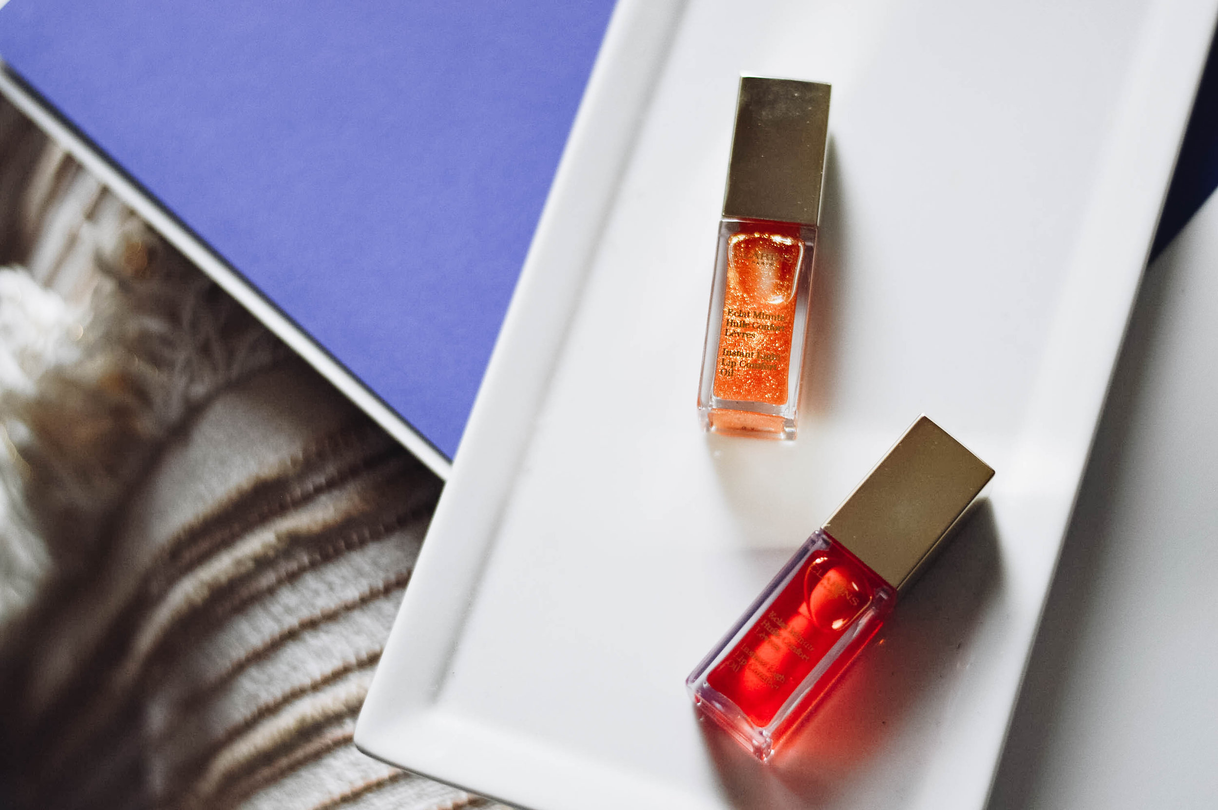 Late Spring Beauty, featuring Clarins Lip Oil via. www.birdieshoots.com