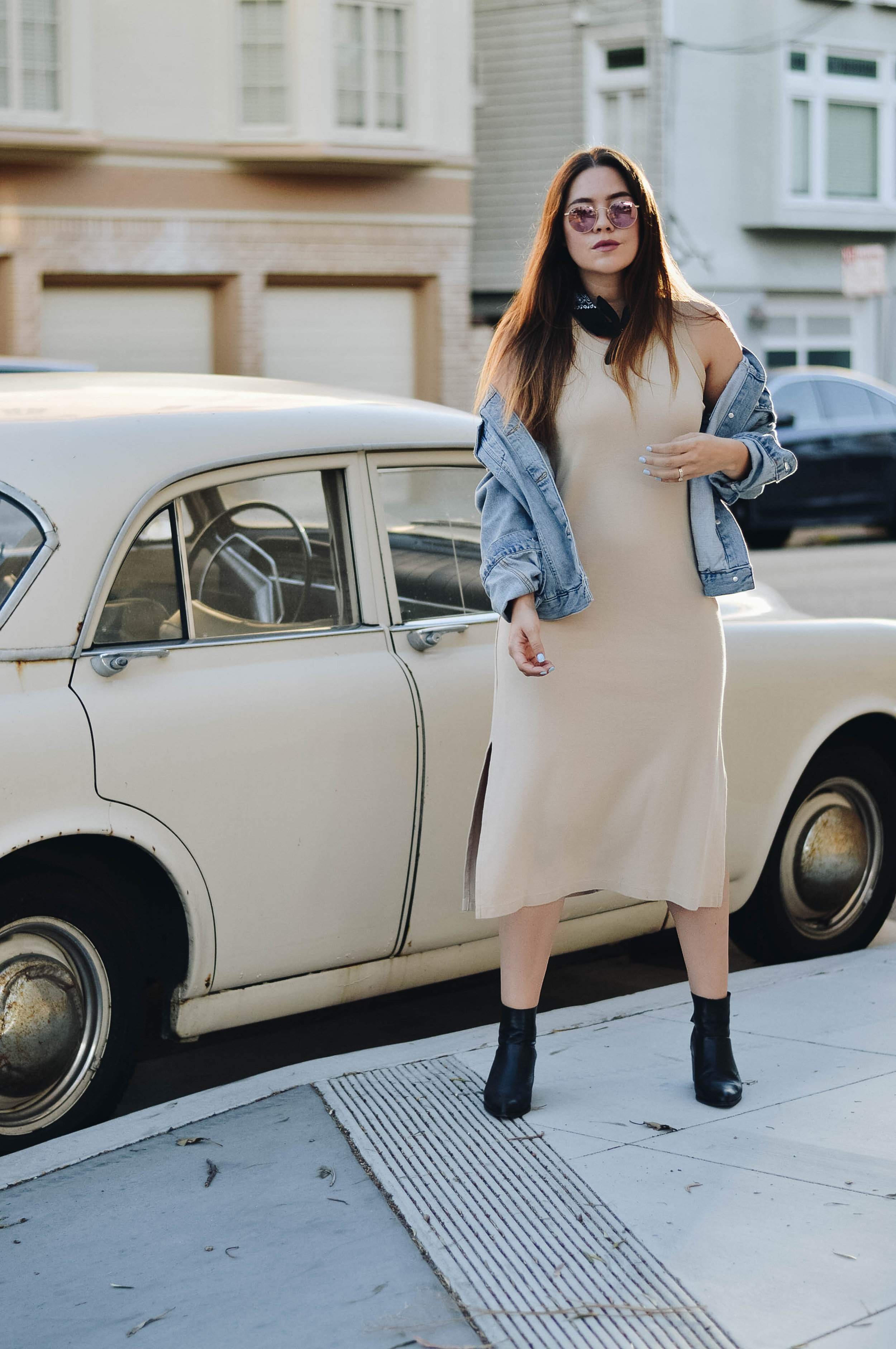 How To Wear Ankle Boots this Summer via. www.birdieshoots.com