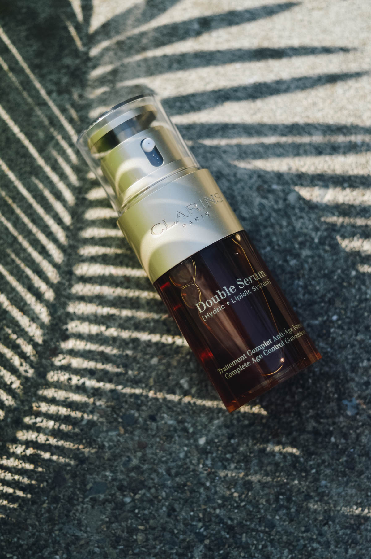 CLARINS Double Serum Complete Age Control Concentrate Review via. www.birdieshoots.com