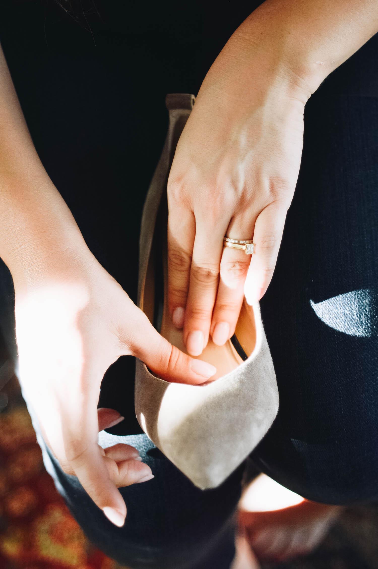 The Practical Way to Wear Heels! via. www.birdieshoots.com