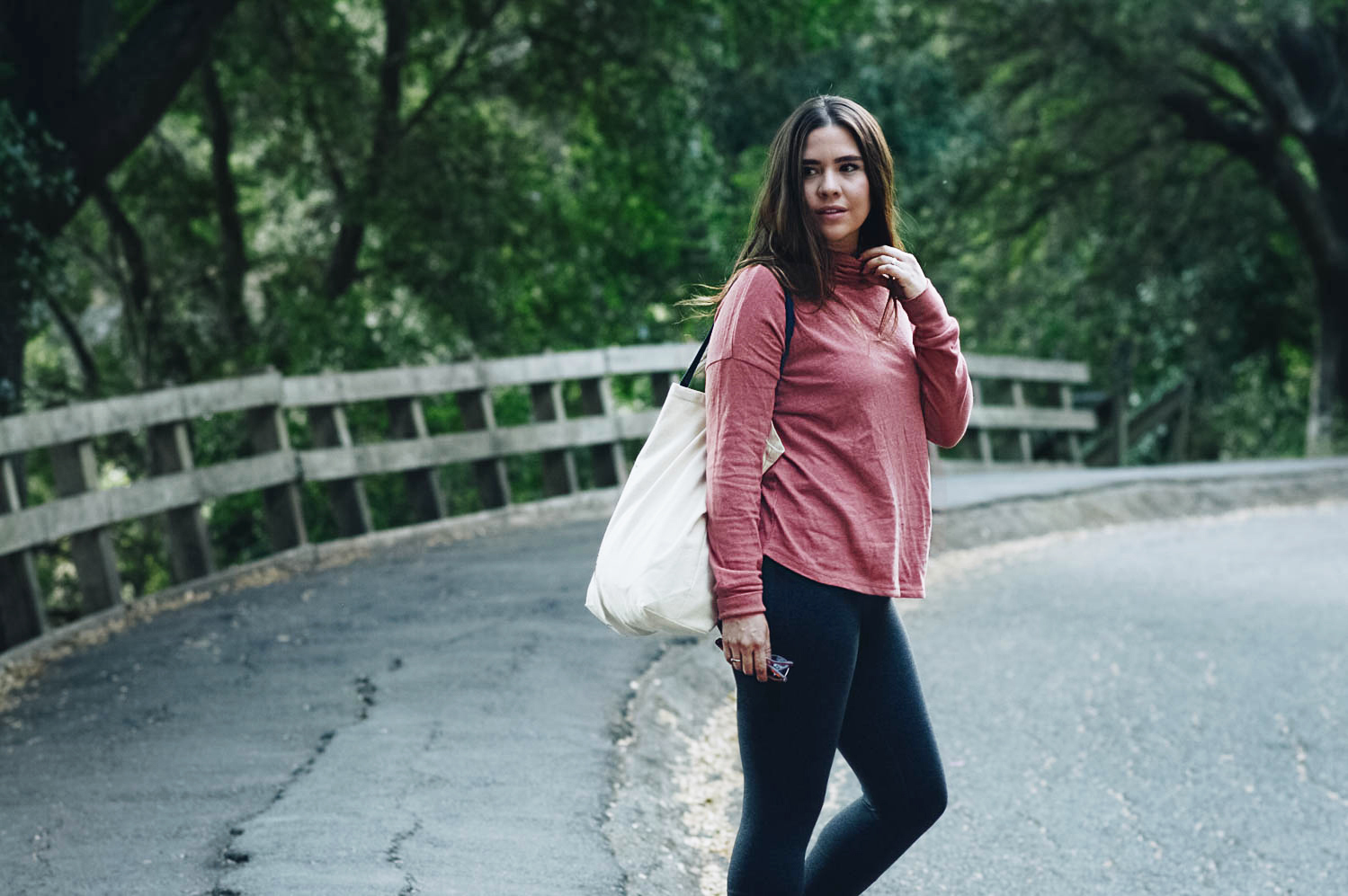 Sweater & Yoga Tights C/O prAna (15% off with code: MS15KT)