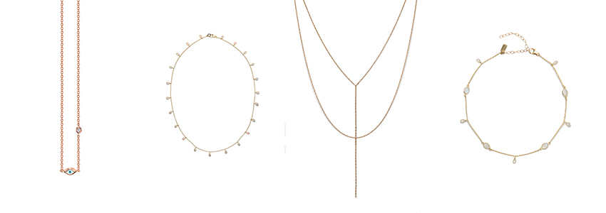 How to Style and Stack Dainty Jewelry VIA. Birdie Shoots Blog