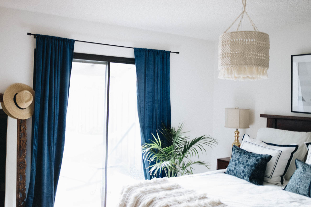 Bedroom Reveal with Framebridge via. Birdie Shoots