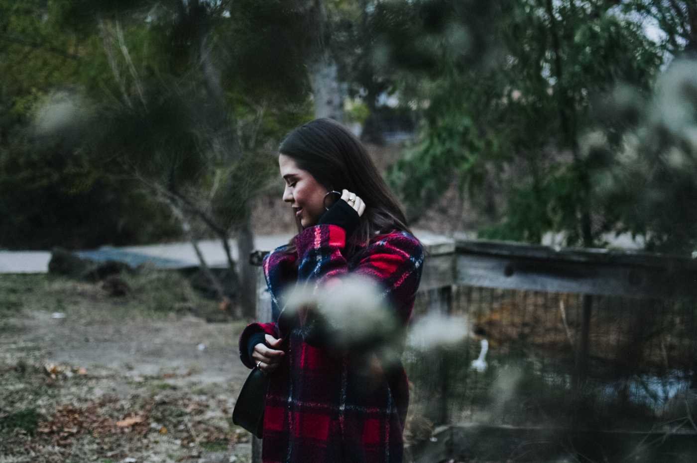 How to Wear Plaid After the Holiday Season via. Birdie Shoots