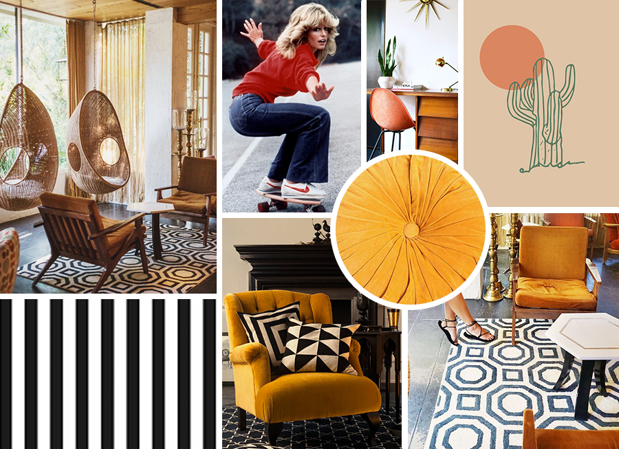 Office Moodboard - TIP! You can also use your dedicated Color Collection to inspire more than just paint colors! Look for similar hues in the upholstery, artwork, and other pieces you decorate with for a perfectly coordinated look, similar to what I did in my space!