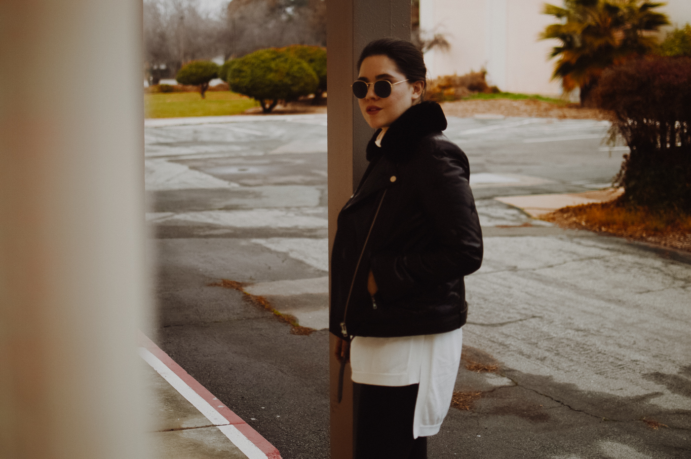 Why You Need a Leather Jacket via. Birdie Shoots