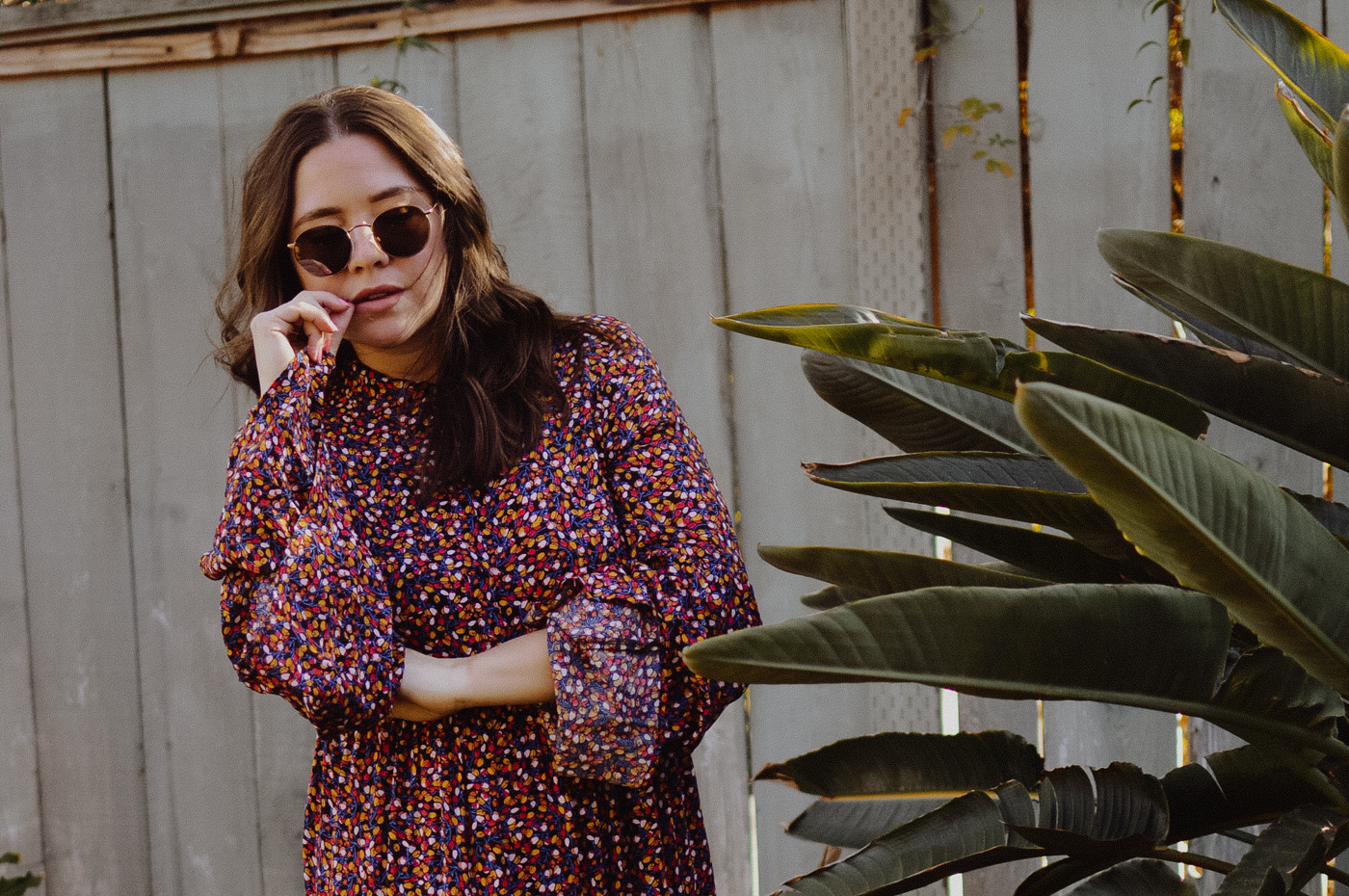 10 Floral Fashion Finds to Usher in Spring via. Birdie Shoots