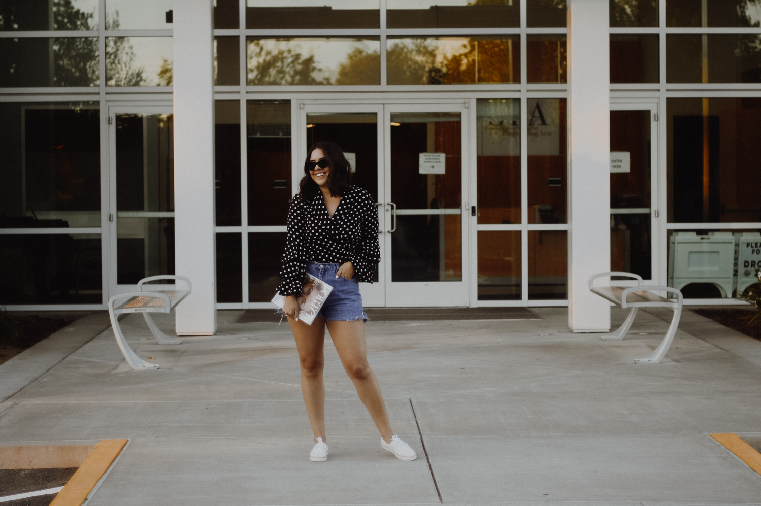 To Ways to Style Sneakers This Season with Macy's via. Birdie Shoots