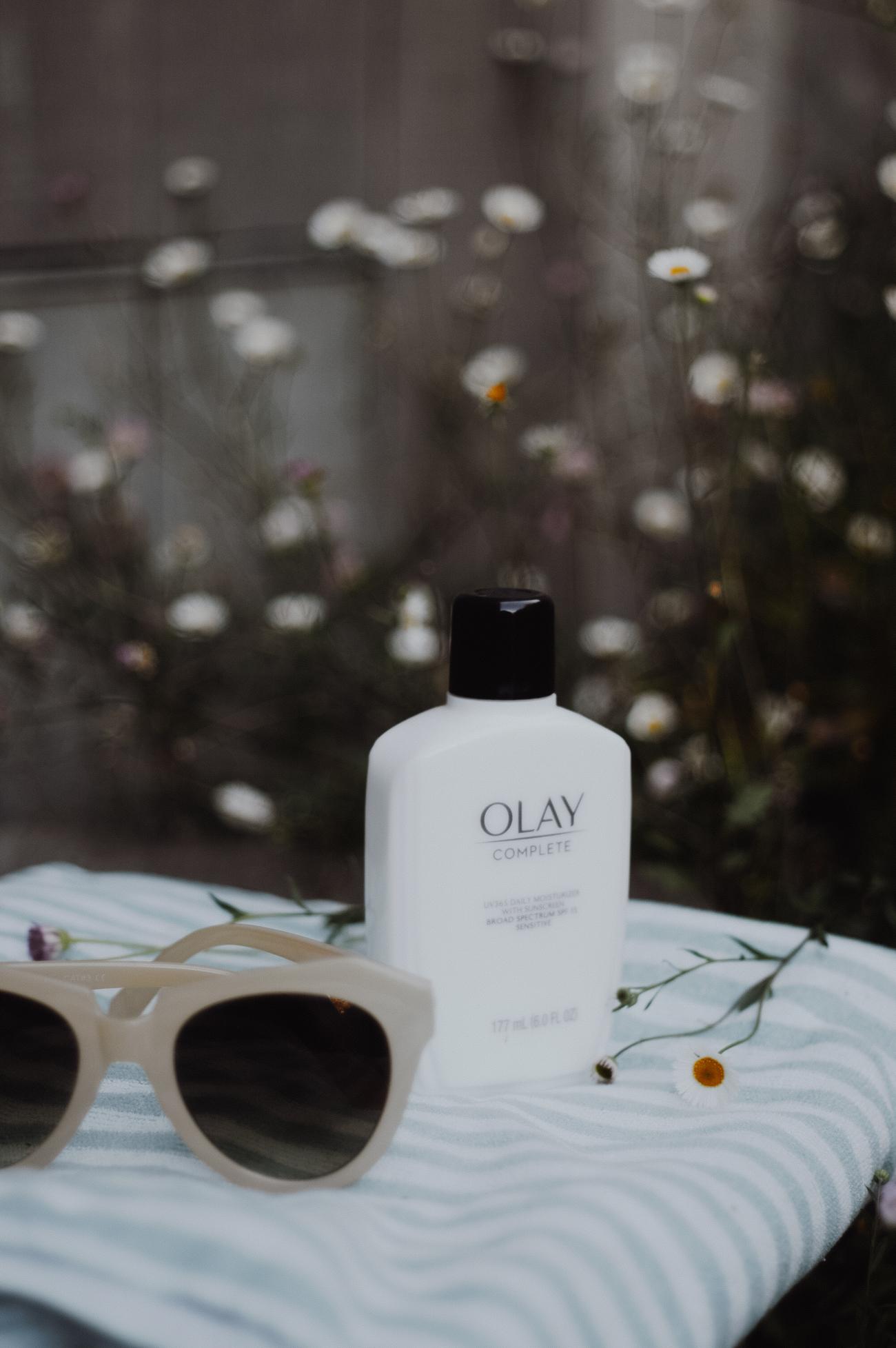 Olay SPF moisturizer blogger review