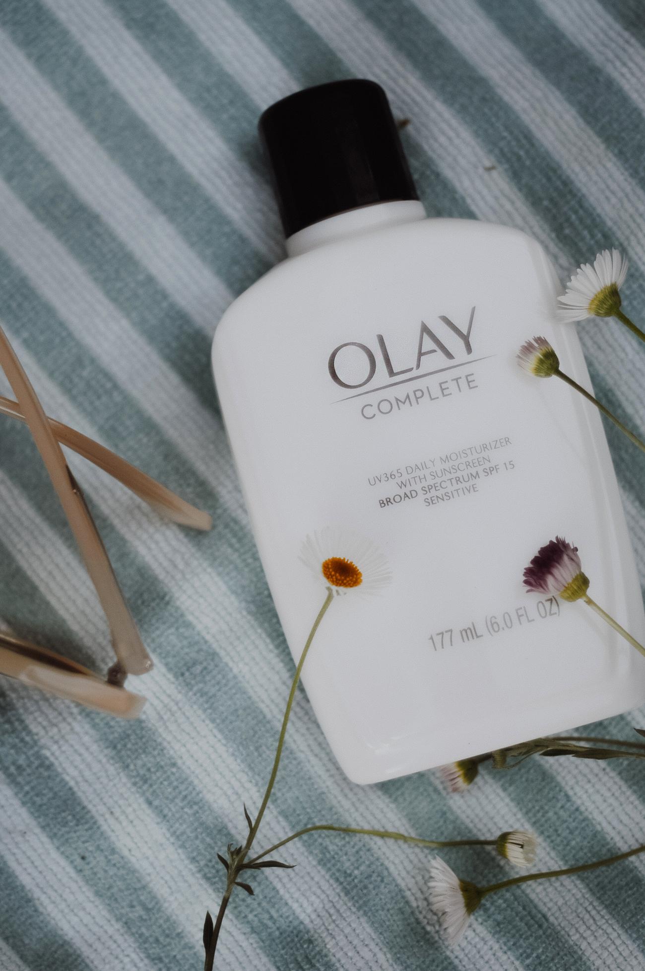 Olay SPF moisturizer blogger review via. Birdie Shoots