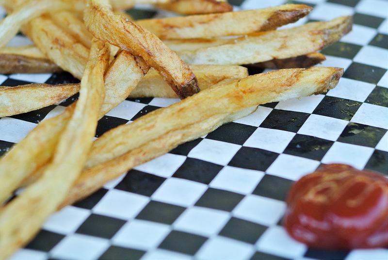 Thin & Crispy French Fries Recipe