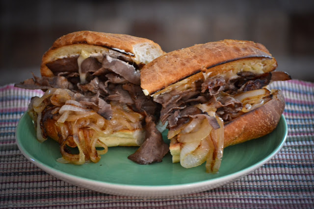 Roast Beef Sandwich Recipe via. Birdie Shoots