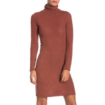 Go Couture - Long Sleeve Knee Length Sweater Dress is now 77% off.