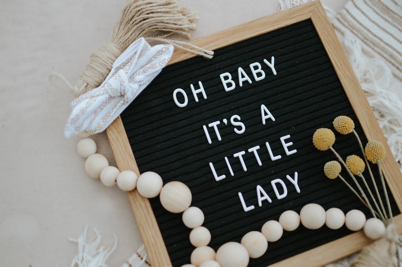 Sign Board Announcement, Second Trimester Pregnancy Update via. The Pacific Standard | www.thepacificstandard.com