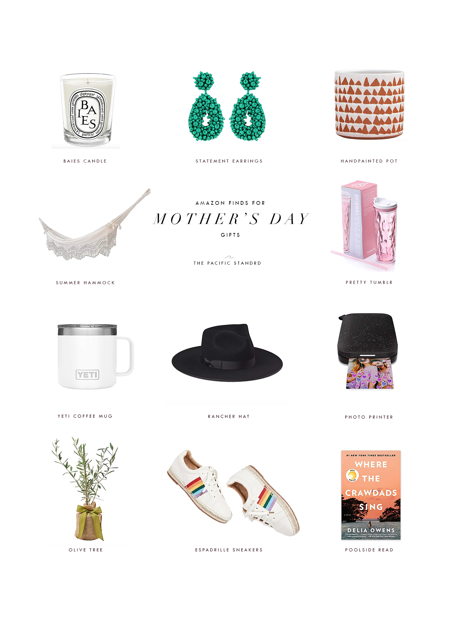 Mother's Day Gift Ideas from Amazon via. The Pacific Standard | www.thepacificstandard.com