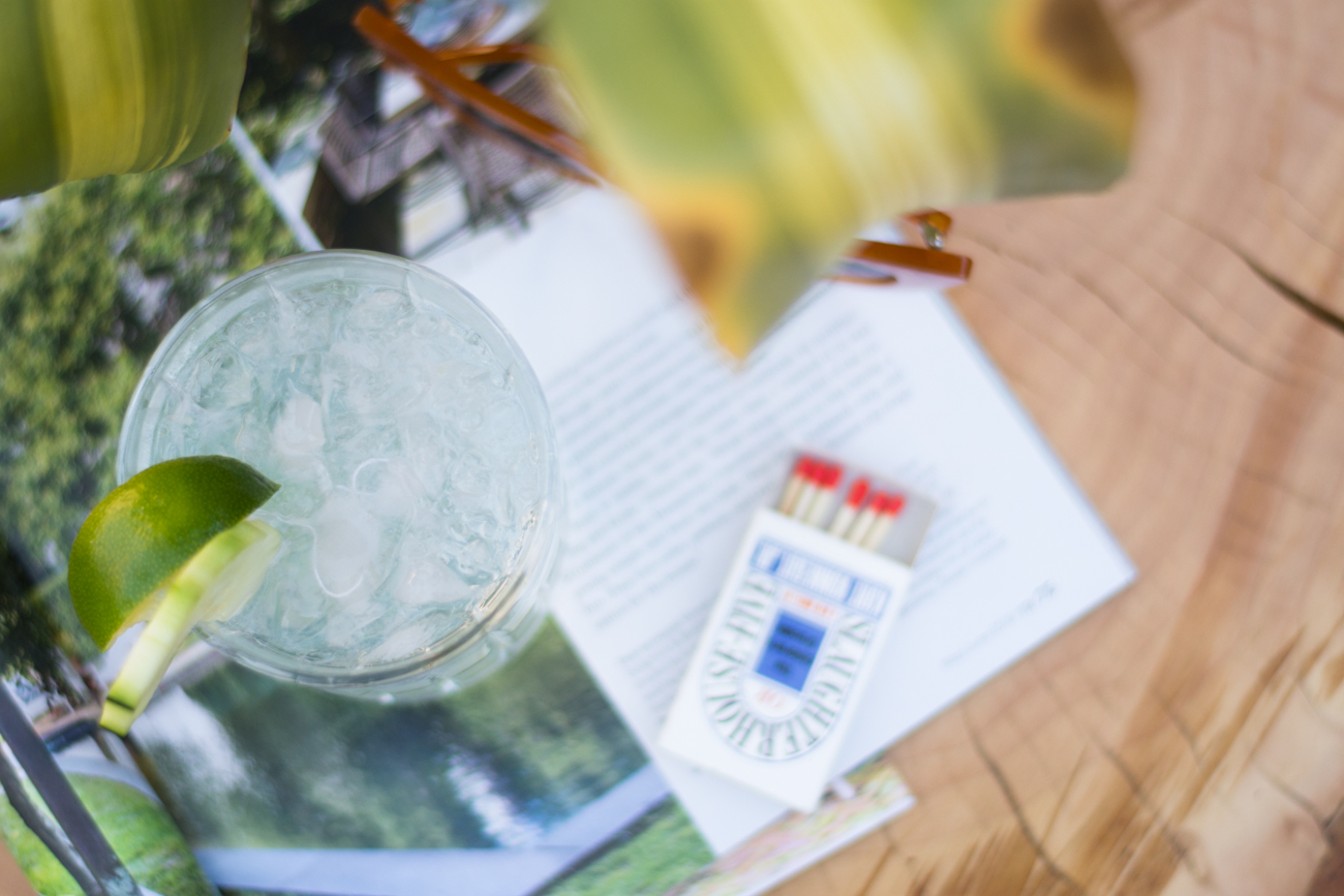 Muddled Cucumber Gin and Tonic Cocktail Recipe via. The Pacific Standard