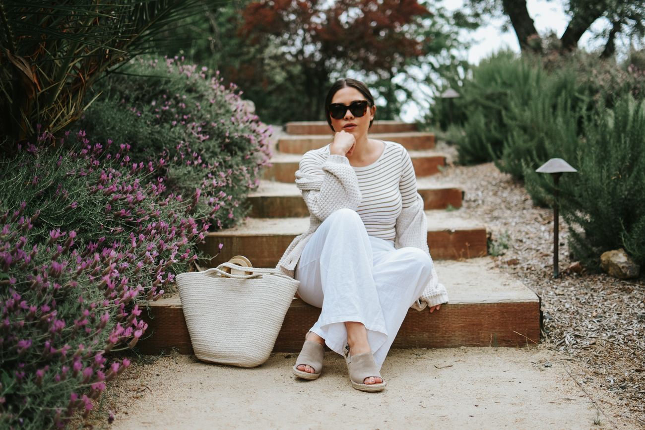 Must-Have Linen Separates for Summer via. The Pacific Standard